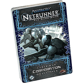 Android Netrunner LCG: Cyber War Corp Draft Pack