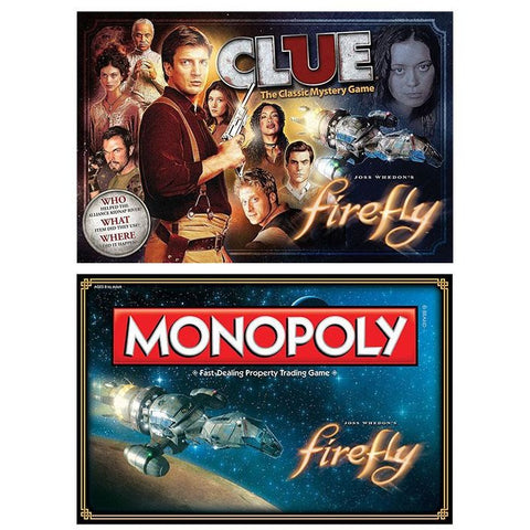 Firefly Bundle: Monopoly and Clue