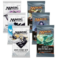 Magic the Gathering Bundle: 3 X Fate Reforged and 3 X 2015 Core Set Booster Packs