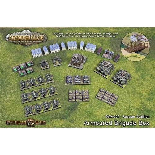 Armoured Clash: Russian Coalition Armoured Brigade Box