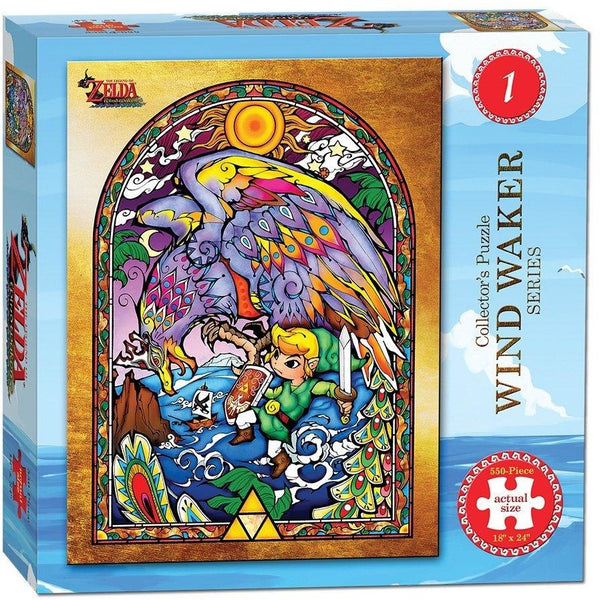 The Legend of Zelda Collectors Puzzle Wind Waker 1 - 550 Pieces
