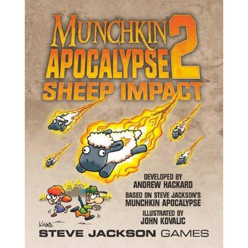 Munchkin Apocalypse 2: Sheep Impact Expansion