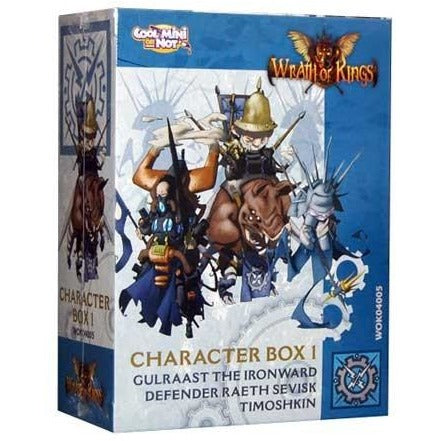Wrath of Kings: House Teknes - Character Leader Box