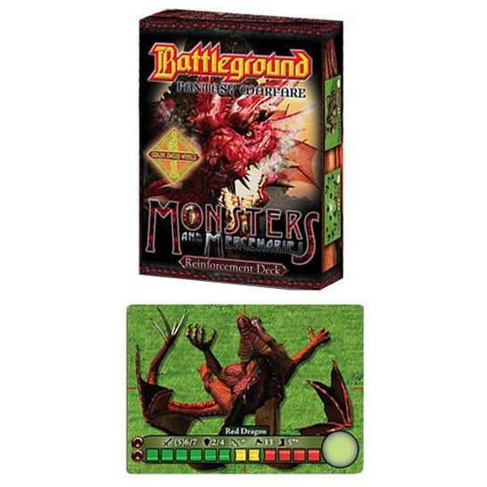 Battleground: Fantasy Warfare - Monsters and Mercenaries Reinforcements