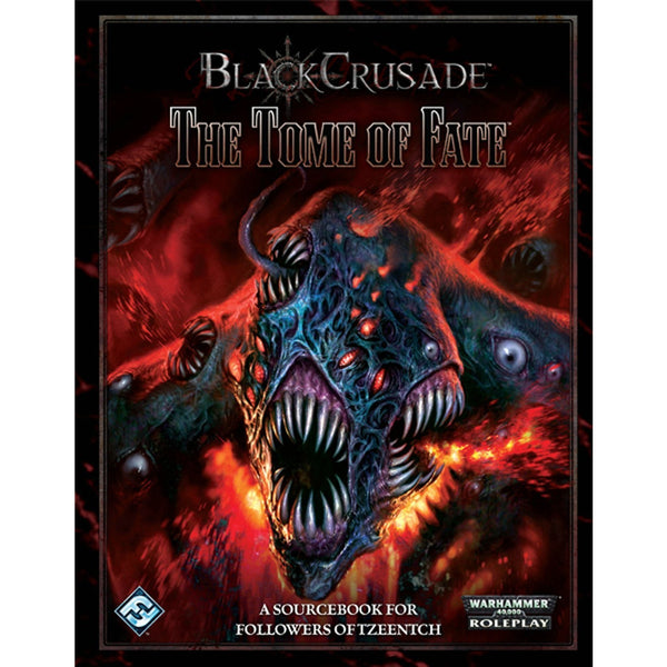 Black Crusade Warhammer 40K RPG: Tome of Fate Hardcover