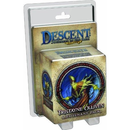 Descent Journeys in the Dark 2nd Edition: Tristayne Olliven Lieutenant Pack