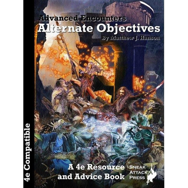 Dungeons and Dragons RPG: Alternate Objectives