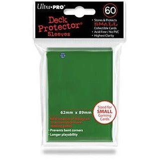 Green Small Size Deck Protector Pack