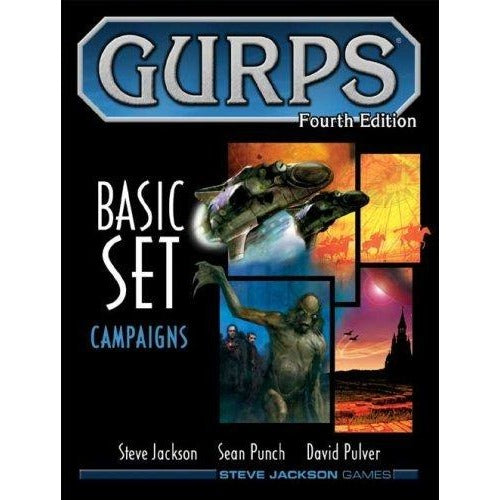 Gurps: 4th Edition Basic Set Campaigns Hardcover