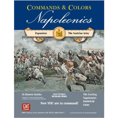 Commands and Colors: Napoleonics Expansion - The Austrian Army