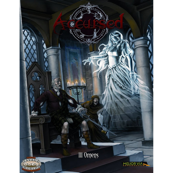 Savage Worlds RPG: Accursed - Ill Omens