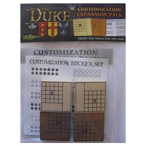 The Duke: Customization Tiles Expansion Pack