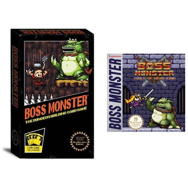 Boss Monster Bundle: Base Game and Tools of Hero-Kind Expansion