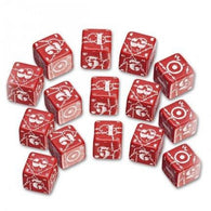 D6 BATTLE UNITED KINGDOM RED&WHITE(5