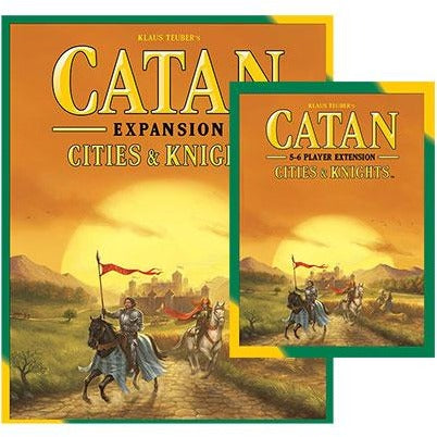 Catan Bundle: Cities and Knights Plus 5-6 Player Expansion