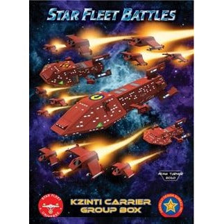 Starline 2400 Miniatures: Kzinti Carrier Group Box