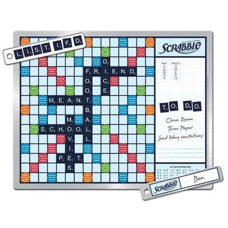 Scrabble 2-in-1 Message Board
