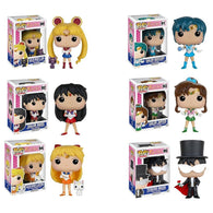 Pop! Animation Bundle: Sailor Moon / Mercury / Mars / Jupiter / Venus and Tuxedo Mask