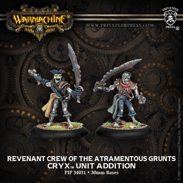 Warmachine: Cryx Revenant Crew of the Atramentous Unit (2)
