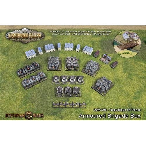 Armoured Clash: Republique of France Armoured Brigade Box