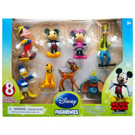 Disney: Mickey Mouse Figurines 8 Pack