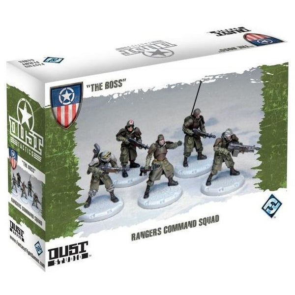 Dust Tactics: Allied Command Squad