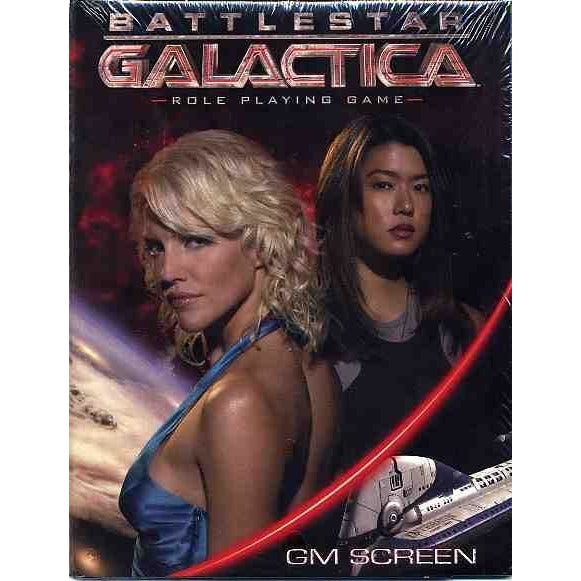 Battlestar Galactica: GameMaster Screen