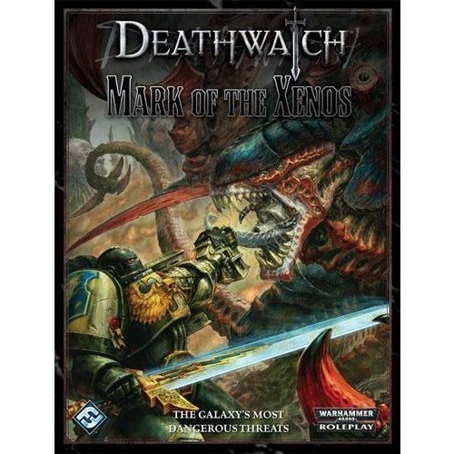Deathwatch Warhammer 40K RPG: Mark of the Xenos