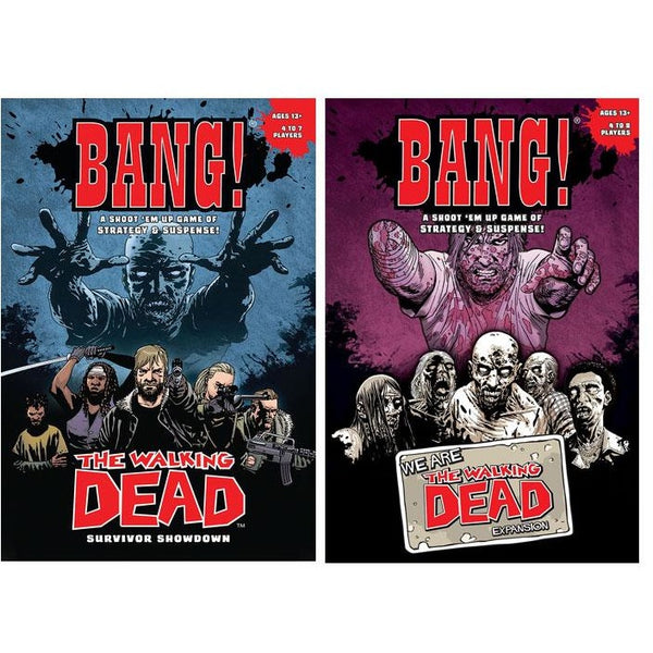 Bang! The Walking Dead Bundle: Core Plue We Are The Walking Dead Expansion
