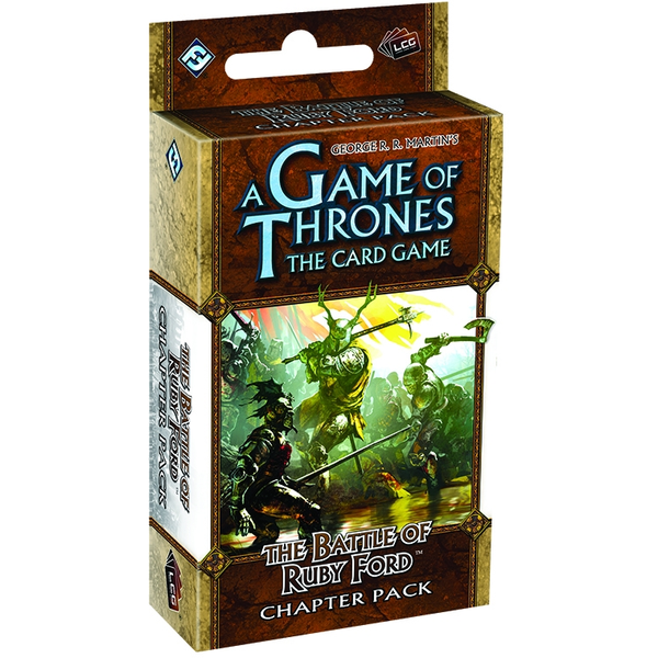 A Game of Thrones LCG: Battle of Ruby Ford Revised Chapter Pack