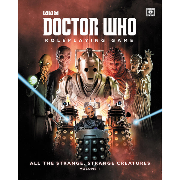 Doctor Who RPG: All the Strange Strange Creatures Hardcover