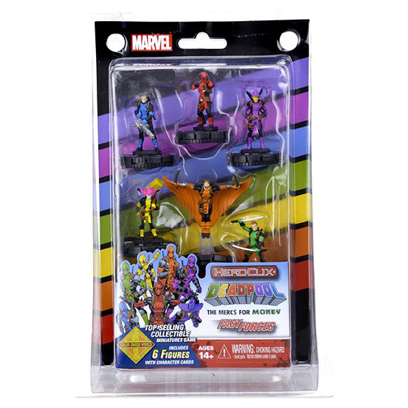 Marvel HeroClix: Merc 4 Money Fast Forces