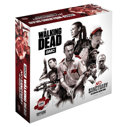 The Walking Dead (TV): No Sanctuary - Base Edition (comes with plastic minis)