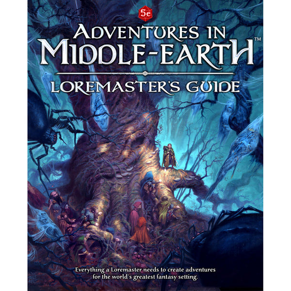 Dungeons and Dragons RPG: Adventures in Middle-Earth - Loremaster`s Guide Hardcover