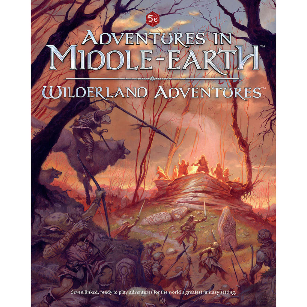 Dungeons and Dragons RPG: Adventures in Middle-Earth - Wilderland  Adventures Hardcover
