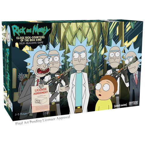 Rick and Morty DBG: Close Rick-Counters of the Rick Kind - Core Set