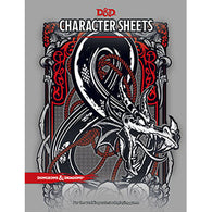 Dungeons and Dragons RPG: Character Sheets