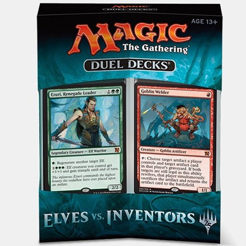 Magic the Gathering CCG: Duel Decks Elves Vs. Inventors (6)