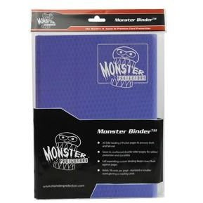 Binder: 9pkt Monster Holofoil Midnightbu