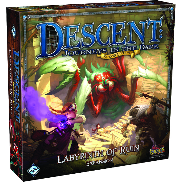Descent Journeys in the Dark 2nd Edition: Labyrinth of Ruin Expansion