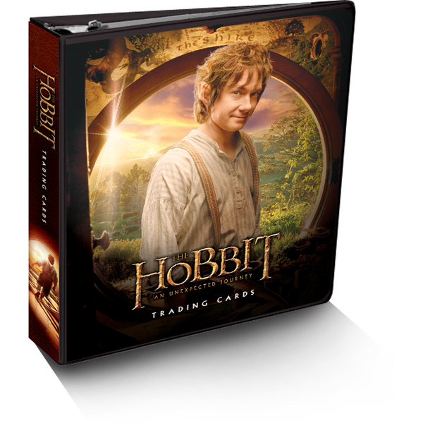 The Hobbit: An Unexpected Journey Trading Cards Binders