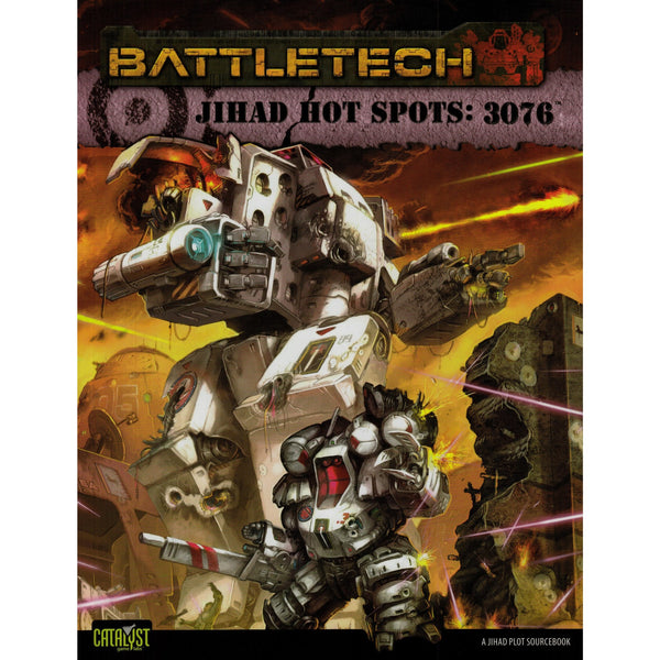 BattleTech: Jihad Hot Spots 3076