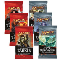 Magic the Gathering Bundle: 3 X Khans of Tarkir and 3 X Fate Reforged Booster Packs
