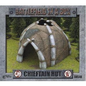 Battlefield in a Box: Tribal Chieftan Hut (1x Large)
