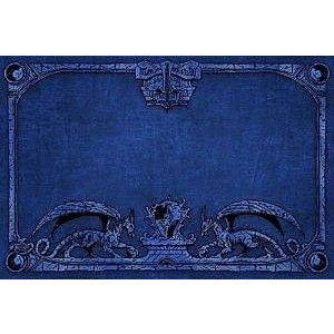 Dragon Shield: Playmat Blue