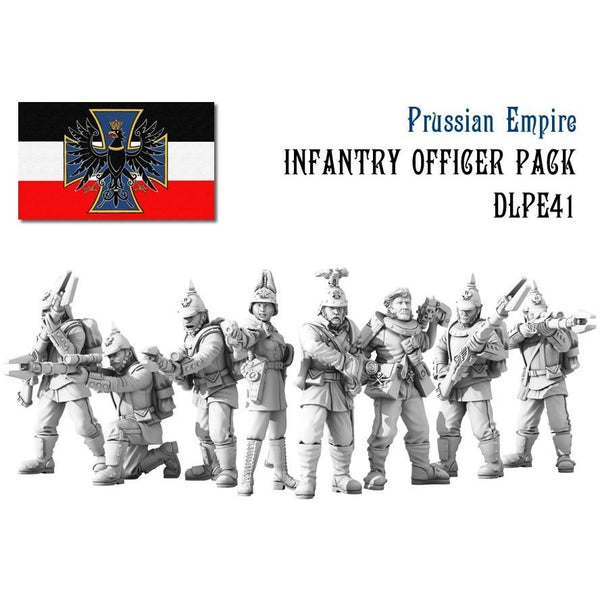 Dystopian Legions: Prussian Empire Infantry Officer Set