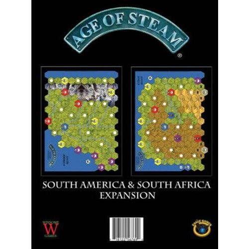 Age of Steam: South America / South Africa Expansion
