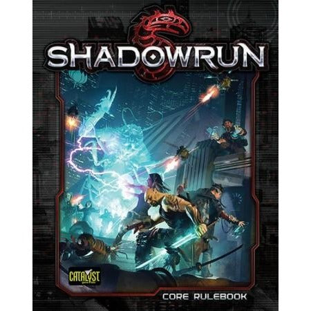 Shadowrun RPG: 5th Edition Core Rulebook