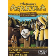 Agricola: All Creatures Big and Small - More Buildings Big and Small Expansion