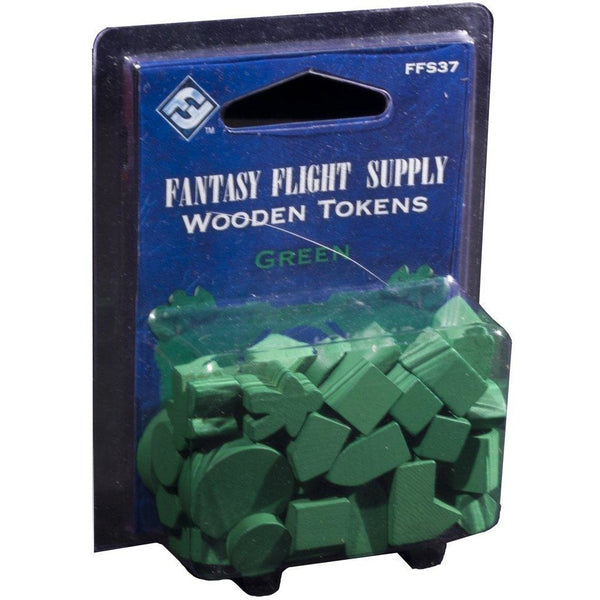 Wooden Tokens Green